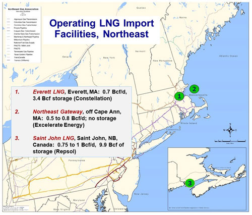 Northeast Gas Association About Lngrhnortheastgasorg: Us Lng Plant Locations At Elf-jo.com