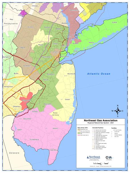 Northeast Gas Association New Jersey